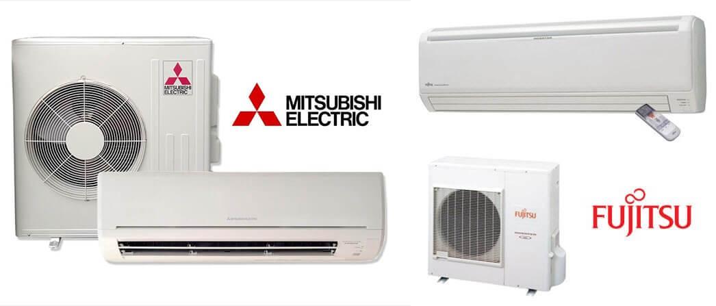 Fujitsu Mitsubishi Air Conditioners